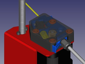 Extruder feeder with alternative runout