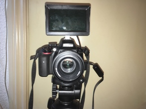 Camera Field Monitor Hotshoe Mount