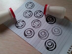 Swindon Hackspace - Ink Pad Stamp