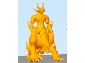 Badass Demon Resting Pose