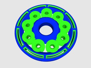 REMIX The Perfect 3D Printed Bearing for 0.4mm Nozzle (print in place)
