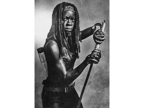 Michonne Lithophane The Walking Dead