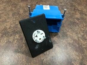 Nema 6-20 Cord-end Face plate adapter