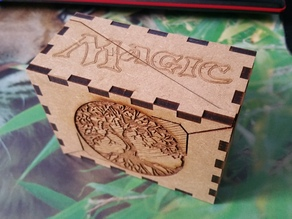 Magic The Gathering Deck Card Box