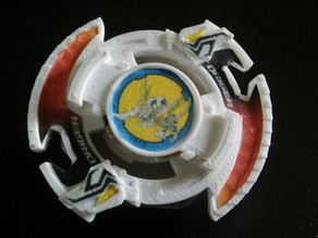 Driger Slash (Complete Beyblade)