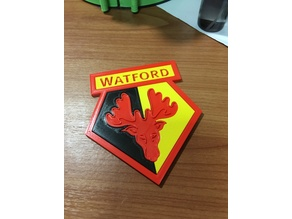 Watford Football Club beer coaster