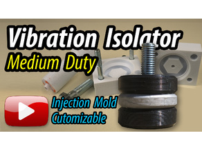 Vibration Isolator Mold - Medium Duty - Customizable
