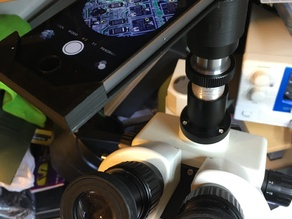 iphone 5s mount for 23.2mm microscope eyepiece