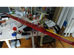Griffin rc glider nose (DW hobby)