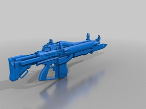 Destiny Exotic pulse rifle Red Death 1:1 Scale