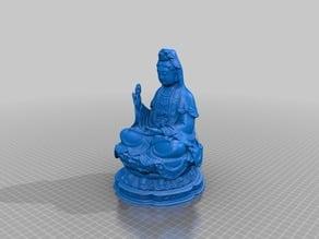 Bodhisattva Guanyin - Flat Version