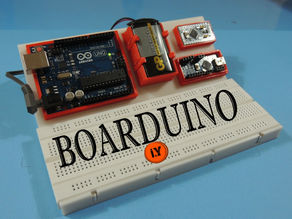 BOARDUINO – ARDUINO ALL IN ONE BREADBOARD STAND