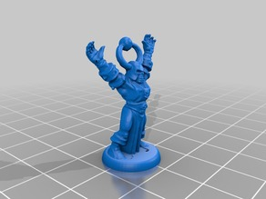HeroQuest Chaos Mage 18mm version