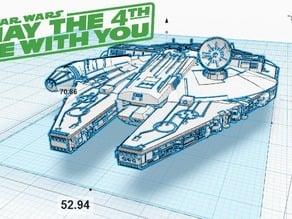 Millennium Falcon Hi-Res