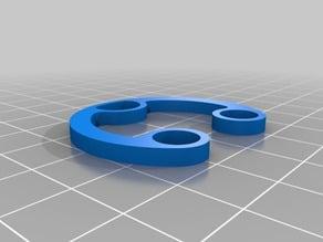 Anycubic i3 Mega / filament spool holder Prusa MK3 design