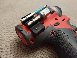 Bit holder for Milwaukee M12 Fuel hex impact driver model 2553-20