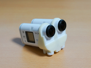 Dual Mounter for SONY Action Cam