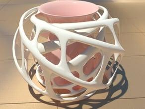 swirl- vase