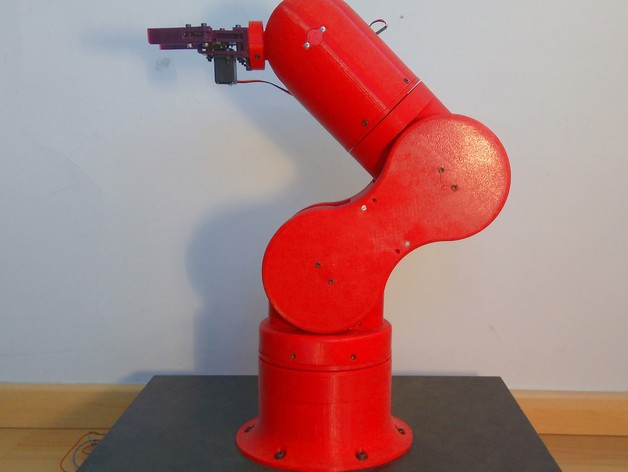 Thor - Open Source, 3D printable robotic arm by AngelLM