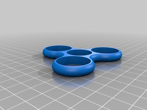 Quarter TRI SPINNER - Fidget Toy