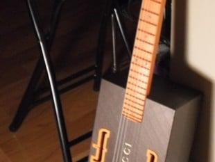 Molten Plastic's 3d Printed Guitar