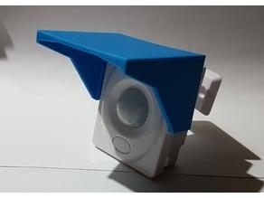 Sun Deflector for very cheap 12V (chinese) PIR Sensor