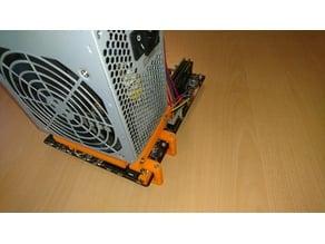 Minimalistic mATX PC build