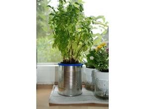 Customized Self-Watering Planter (Ananas-Dose)