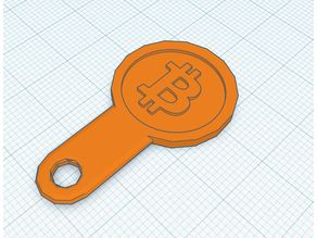 BitCoin Shopping Cart Token Keyring