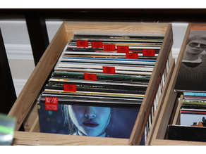 Vinyl Record Tabs (alphabetical)