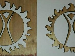 Burning Man Ring of Fire /  Sun Ring
