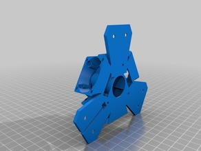 Anycubic kossel magnetic effector for E3D v6