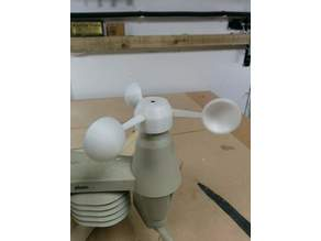 Alecto WS 4800 Weather Station Anemometer Wind Cups