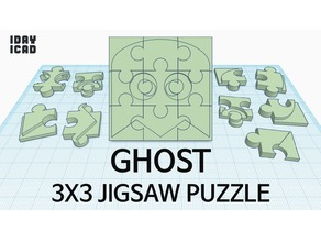 [1DAY_1CAD] 3X3 JIGSAW PUZZLE GHOST