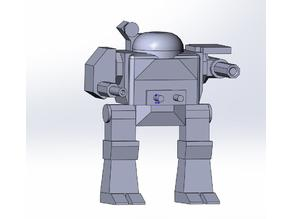 "MSK-6S ""Mackie"" miniature for Battletech boardgame."