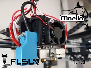Marlin 1.1.9 Flsun Cube Stock, Chimera and Cyclops