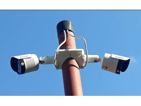 Surveillance Camera Holder