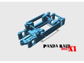 CHASIS X1 PANDA SCX RAID (MOTOR CACAHUETE)