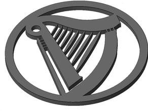 Harp Beermat