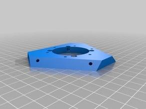 Rostock Magnetic arms Effector for Kraken