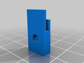 Glass holder for 1.6mm Walmart Picture Frame Glass.