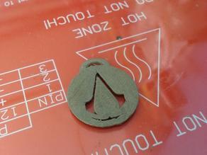 Assassin's creed pendant (KrytenSyxx)