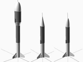 Customisable Modular Model Rocket