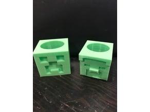 Minecraft Neckerchief Slides