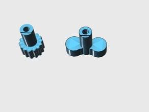 Bolier gas Knob Valve ( 5mm diameter )