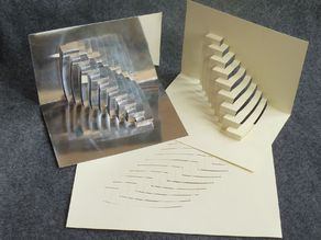 Stepped Arches greeting card