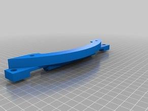 He3D K280 rigid bed mounts