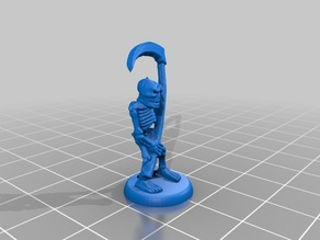 HeroQuest Skeleton 18mm version