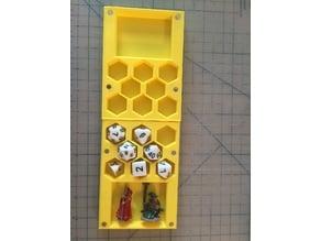 Dice Box + Mini Holder