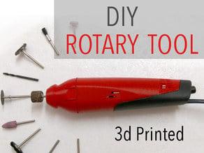 DIY 3d Printed Dremel-Style Rotary Tool